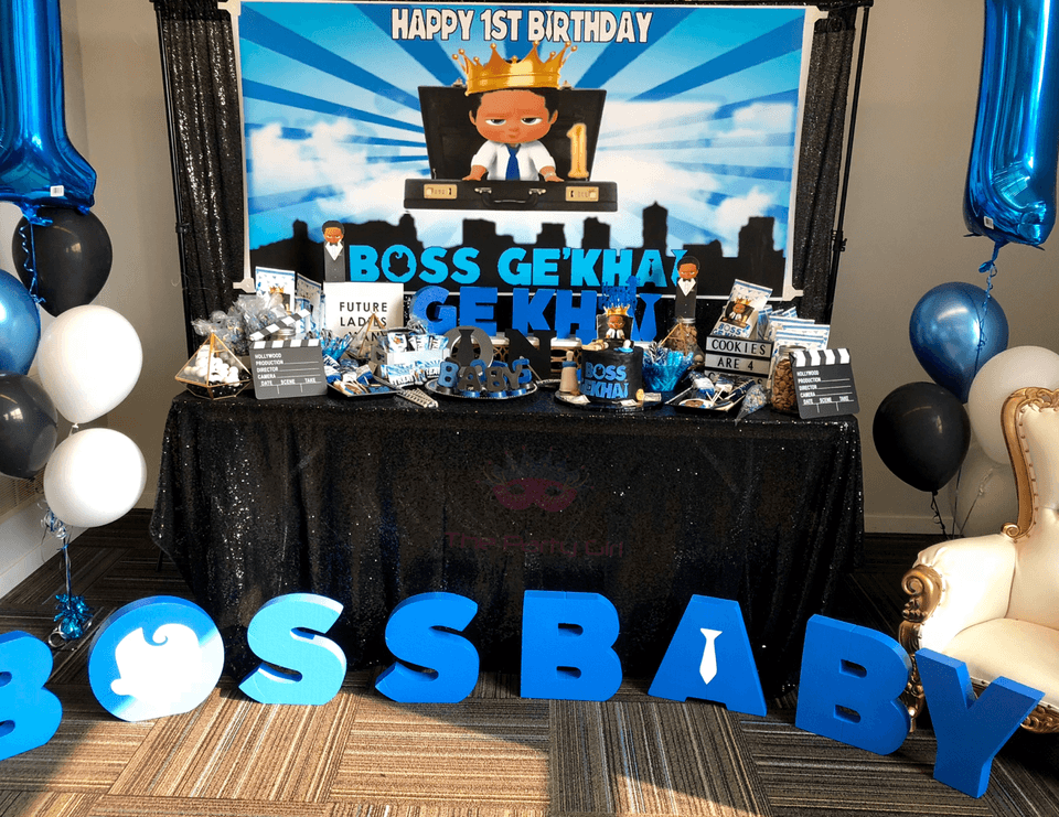 Boss Baby Theme Party Ideas Boss Baby Party Planners