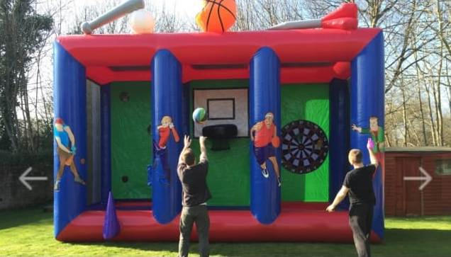 3 in 1 Inflatable Game On Rent