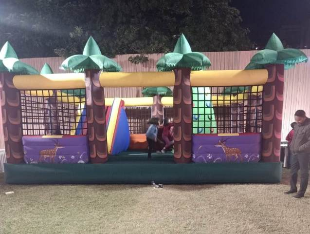 jungle bouncy on rent