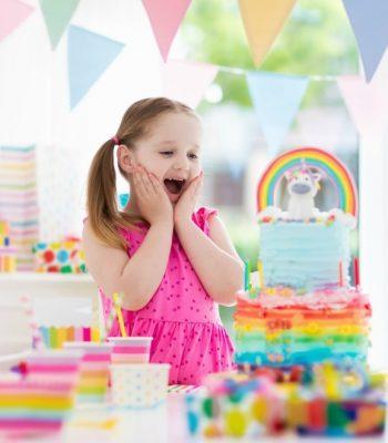 themed birthday for girls